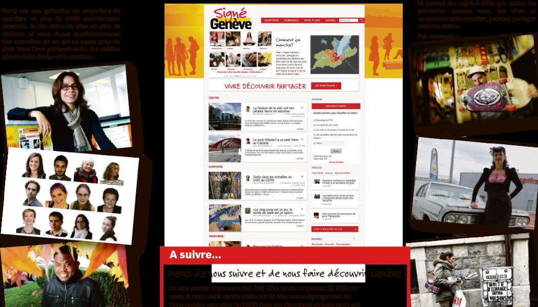 Signé Genève fête son 1er anniversaire!
