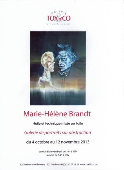 Marie-Hélène Brandt Galerie de Portraits sur Abstraction