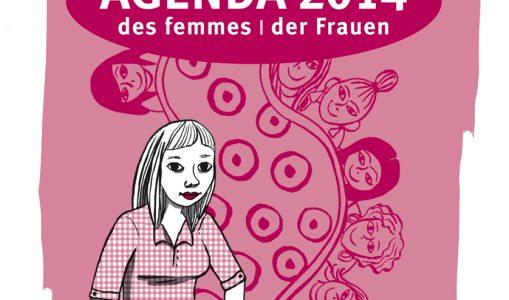 Agenda des Femmes 2014