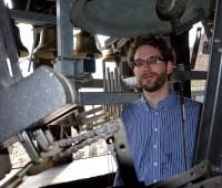 Le carillonneur de la Cathédrale Saint-Pierre joue du Harry Potter
