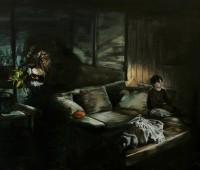 Marc Dailly Huile sur toile à la Galerie TOX'n'CO Genève