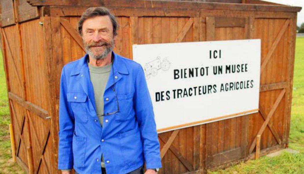 L'homme qui rêve d'un musée dans son champ