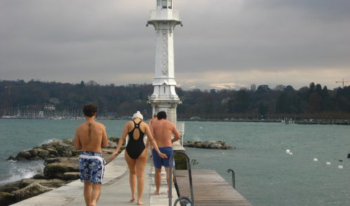 Se baigner aux Pâquis en décembre? A l'eau quoi!