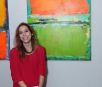 Suite de l'exposition Nadia Merzoug et photos du vernissage