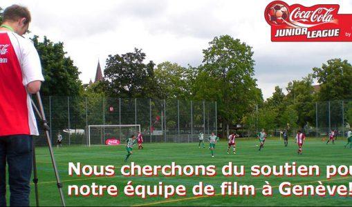 Equipe de tournage à Genève cherche soutien!