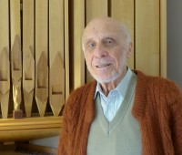 Portrait de Paul Louis Siron en constructeur d'orgue