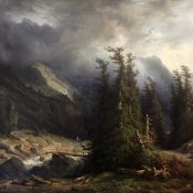 Les peintres genevois: François Diday