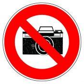 Interdit de photographier