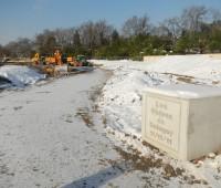 Le chantier des Cèdres de Cologny en images