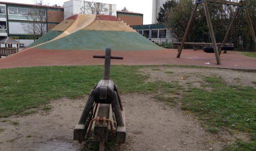 Le préau de l'école des Racettes bientôt rénové