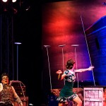 Cirque Starlight, l'équilibre des assiettes ©C. Martignoli
