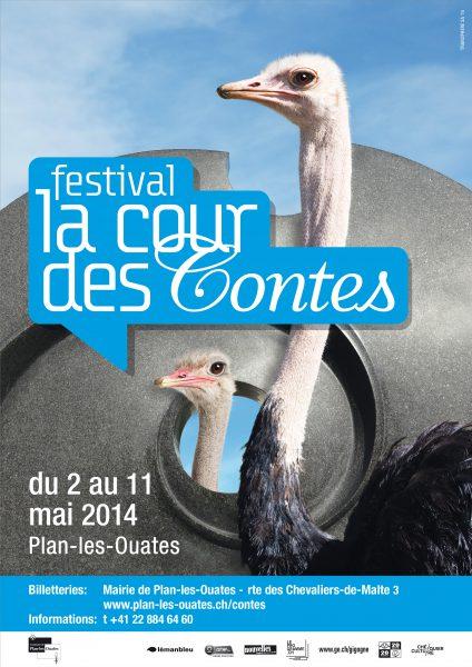 Festival La Cour des Contes : suivez l'autruche !