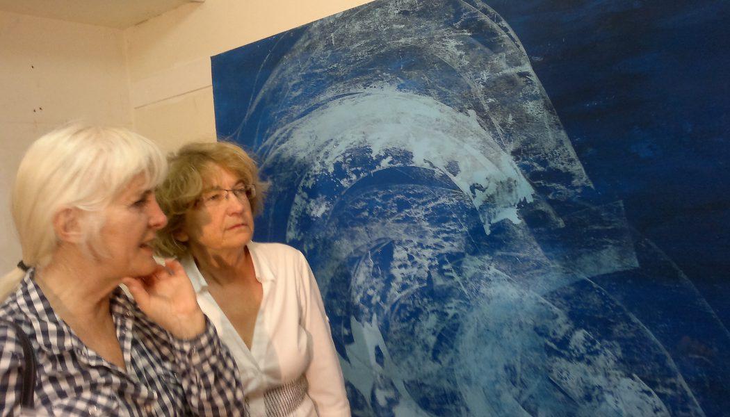 Peinture gigantesque avec Malwida Rohner