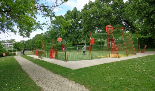 Au parc Mirany, on joue désormais sous l'oeil des caméras
