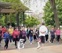 Franc succès pour le 1er Urban Training au Jardin Anglais
