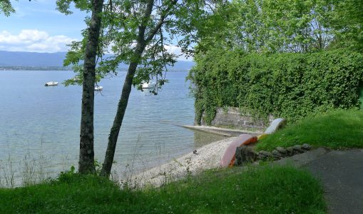 Ces lieux oubliés au bord du lac