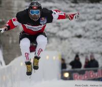 Féru de Ice Cross Downhill, un Genevois s'exile en Finlande
