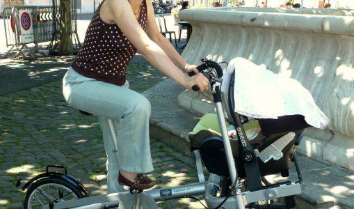 Première citoyenne de Carouge et jeune mère