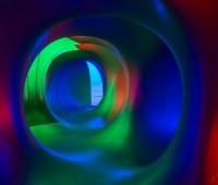 Sous la lumière du Luminarium