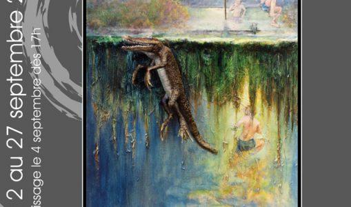 Exposition de l'artiste Gigi Bryers à la galerie l'Art'monie