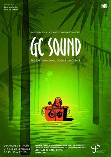 GC Sound, pour danser à la plage du Jardin botanique