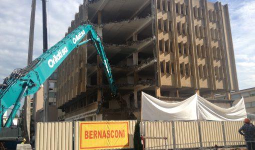 Destruction sensible d'un immeuble à Carouge