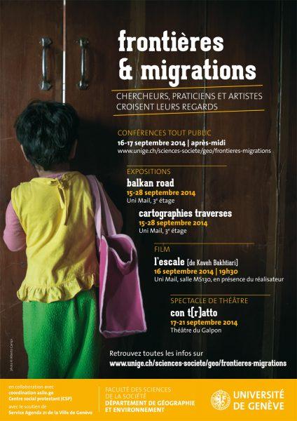 Frontières et migrations. Chercheurs, praticiens et artiste