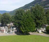 A Veyrier, ce cimetière atypique