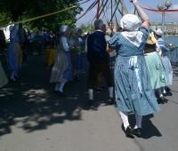 A Plan-les-Ouates, une lavandière, raconte l'entrée de Genève dans la Confédération