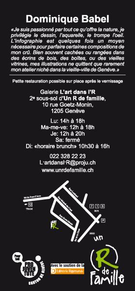 Expo Dominique BABEL 2014