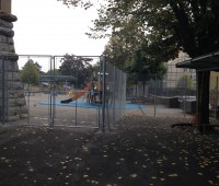 L'accès à l'école primaire de Sécheron partiellement fermé !