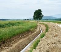 Un gazoduc sous les pieds
