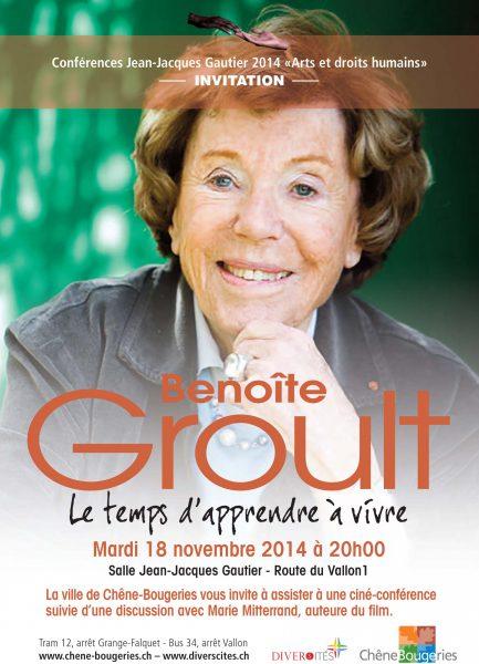 Ciné-Conférence Benoîte Groult
