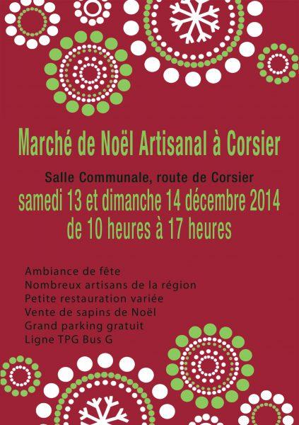 Marché de Noël de Corsier