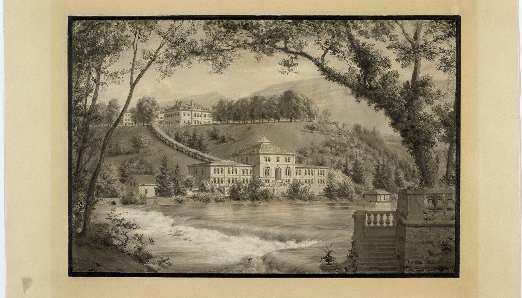 Champel-les-Bains au siècle dernier