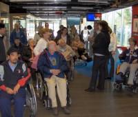 26. La RTS accueillait des patients dans ses studios