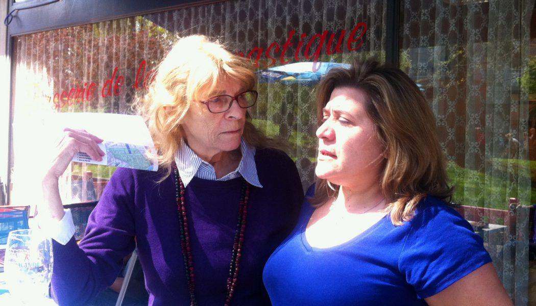 Christine la patrone et sa fidèle cliente Denise. © Maryelle Budry