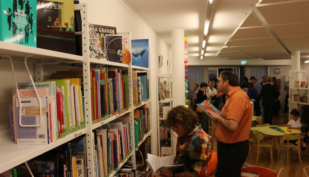 La bibliothèque de Bernex ouvre ses portes