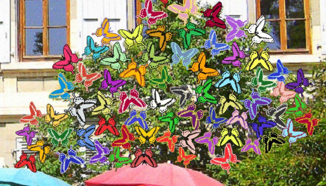 32. L'arbre aux papillons, un message de solidarité