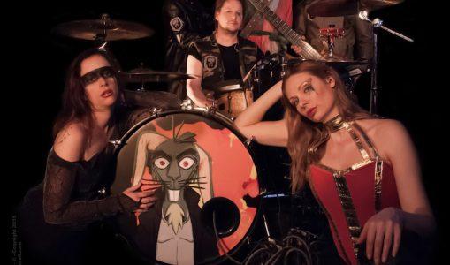 Ciel A Vendre, un groupe rock entre glam et théâtre