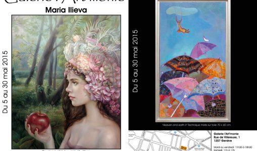 La Bulgarie et Cuba invités à la Galerie l'Art'monie du 05 au 30 mai 2015!