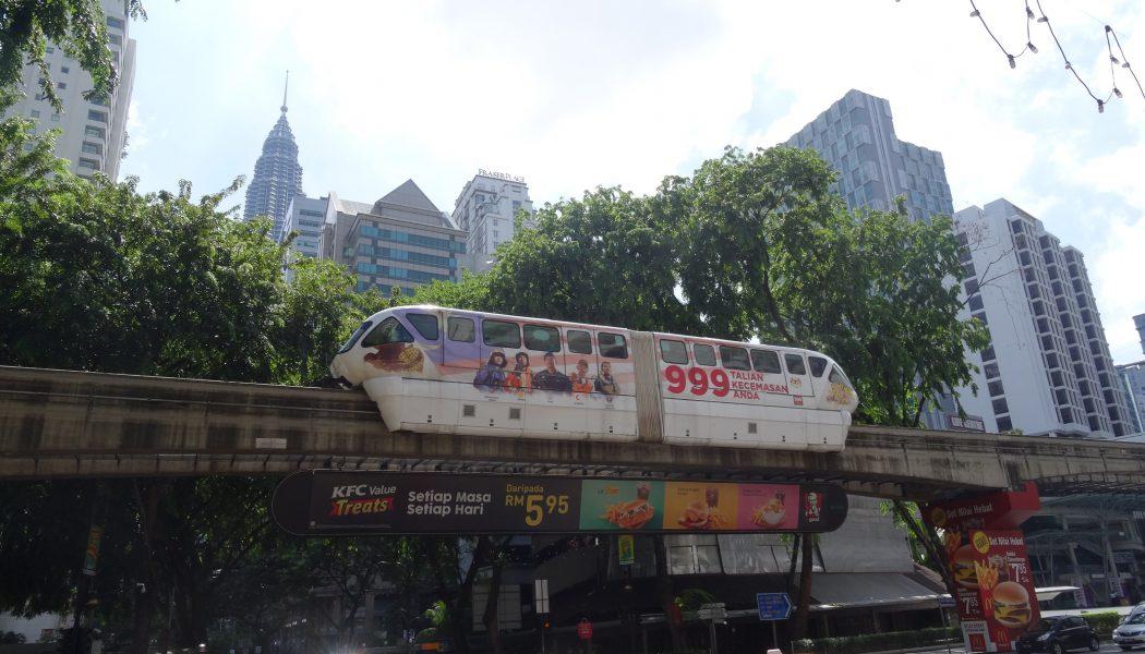 Vu ailleurs: le monorail de Kuala Lumpur