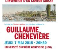 Conférence sur Genève aux Grottes