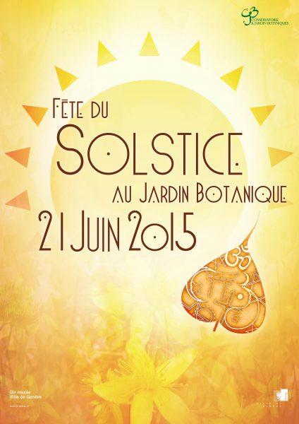 La Fête du Solstice  dimanche 21 juin au Jardin botanique