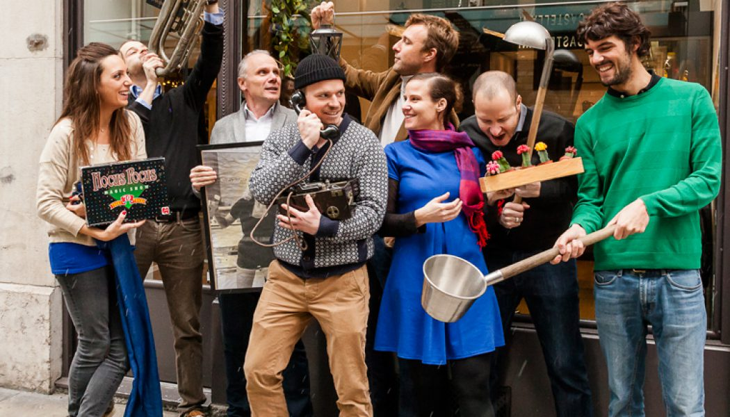 Inauguration du Café Voisins à la rue du même nom