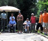 45. Concours de pétanque… en fauteuil roulant !