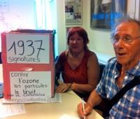 Henriette Stebler et Armin Murmann au Service des votations. © Maryelle Budry