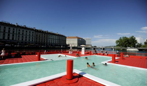 Pour le maintien de bains publics sur le Pont de la Machine