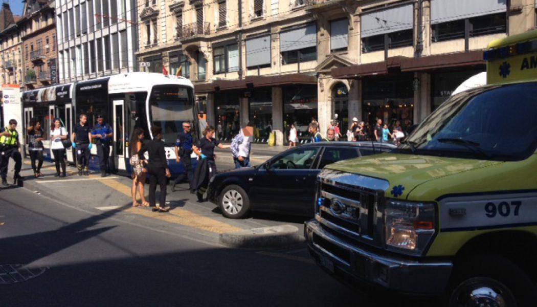 Un blessé au cours d'une bagarre dans le tram 18