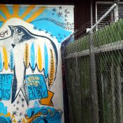 Découverte des graffitis genevois en vélo